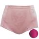 華歌爾 BABY HIP 64-82 標準腰短管修飾褲(紫棠紅) product thumbnail 1
