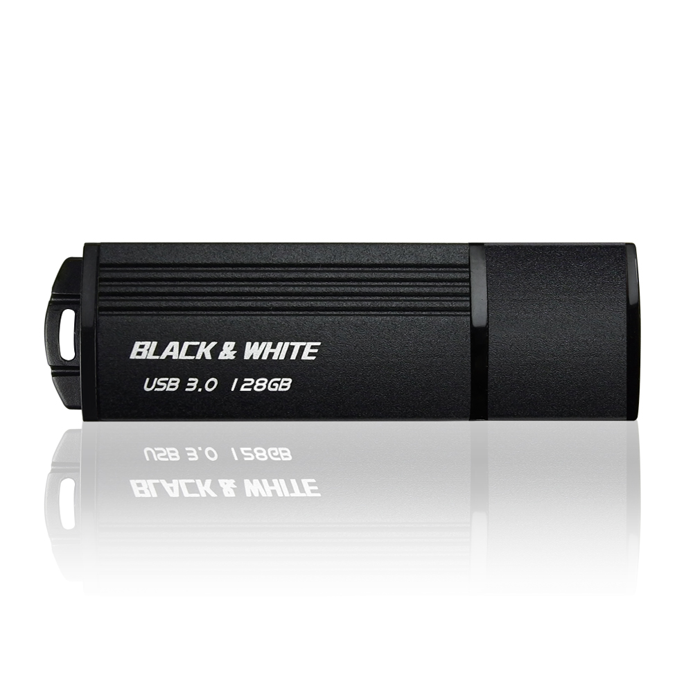 TCELL 冠元-USB3.0 128GB NEW BLACK & WHITE
