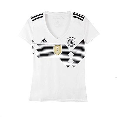 adidas 女 DFB H JSY W 圓領T(短) 世足賽球衣