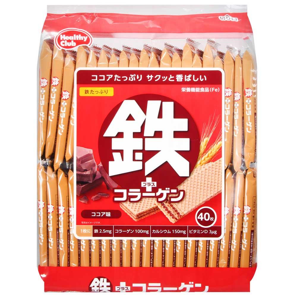 Hamada哈馬達 鐵威化餅-巧克力40枚(284g)