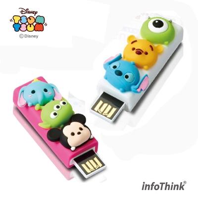InfoThink迪士尼TSUM TSUM造型隨身碟16GB