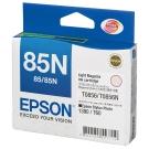 EPSON NO.85N 原廠淡紅色墨水匣(T122600)