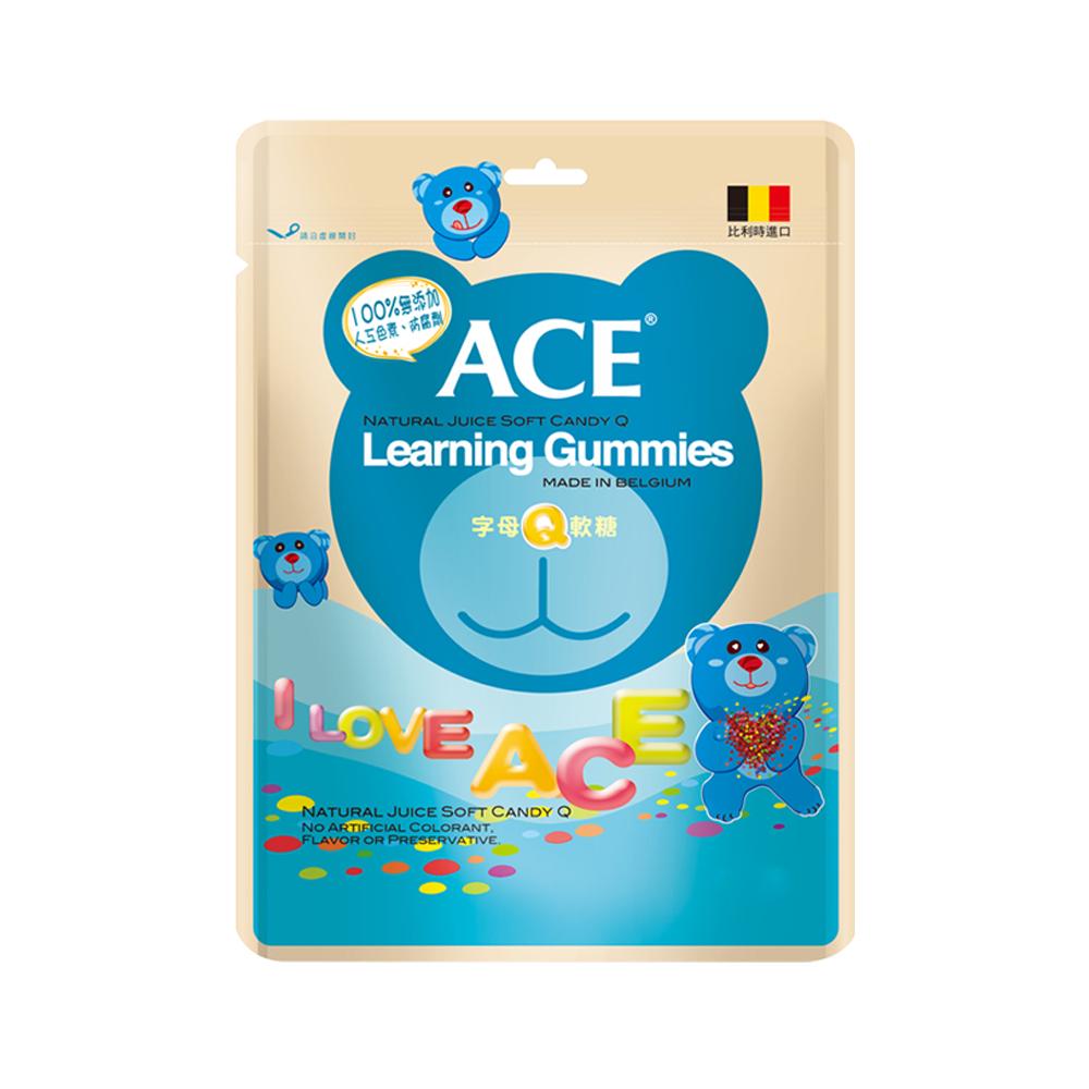 ACE 字母Q軟糖3入組(240g/包)