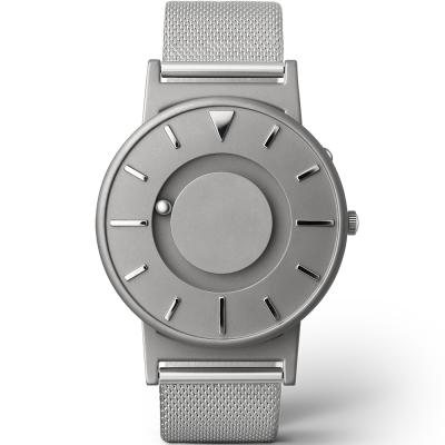 EONE 美國設計品牌 Bradley 觸感腕錶-經典銀/40mm