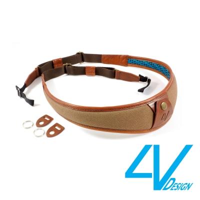 4V ALA系列相機背帶 LU-CV2223-棕/棕色(L)