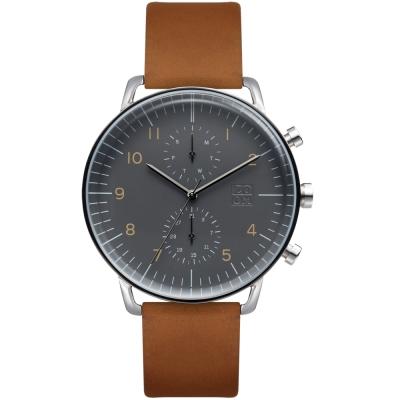ZOOM Refine 旅行者多功能腕錶-灰色44mm