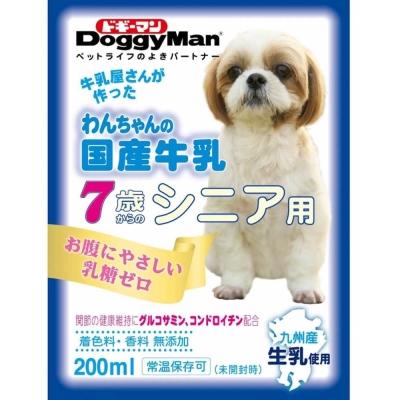 Doggyman 犬用國產牛乳-老犬用 200ml