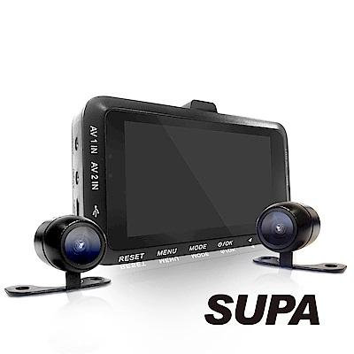 速霸 PX3000 1080 HD高畫質超廣角 機車防水雙鏡行車記錄器