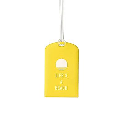 Go Travel Glo 行李吊牌兩件組 - 黃色氣球