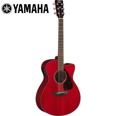 YAMAHA FSX800CRR 電民謠木吉他 烈焰紅色 @ Y!購物