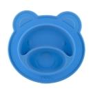 Nuby 小熊矽膠餐盤(6M+)