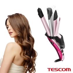 TESCOM 直捲波三用燙髮器 IPW1650TW*白色情人節*