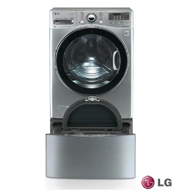 [無卡分期12期]LG 樂金TWINWash 18+2.5公斤雙能(典雅銀)WD-S18VCD