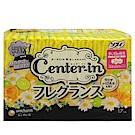 日本CENTER-IN 乾爽幸福花香羽翼24cm量多(17枚入)/包
