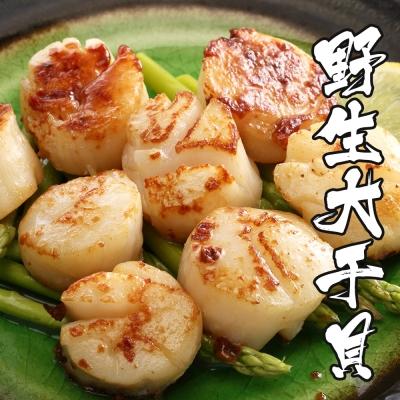 海鮮王 特級野生大干貝 *1包組( 500g±10%/包 )