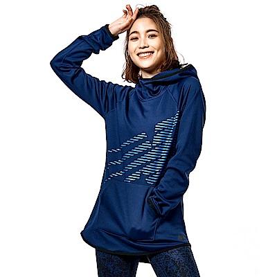 Tech Fleece刷毛連帽長袖上衣 WT73151TMP 女性 藍色