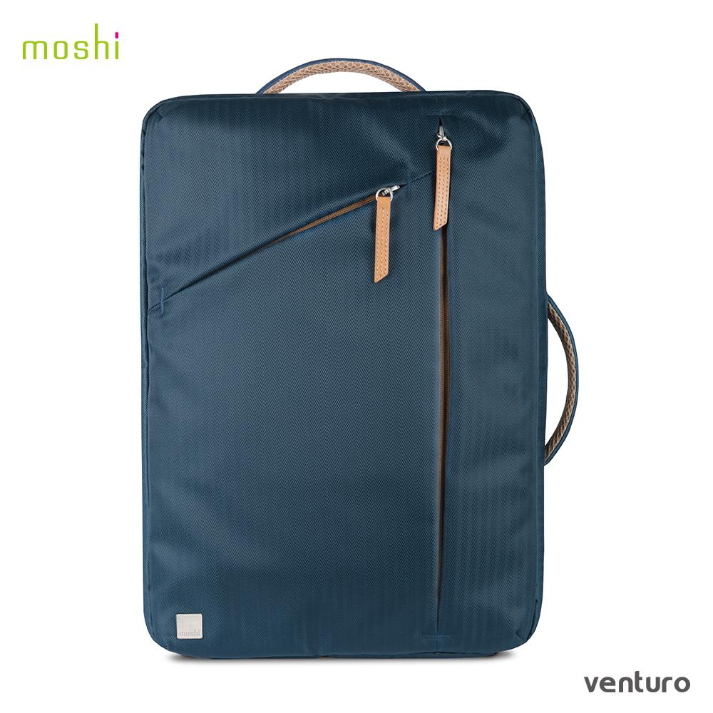 Moshi Venturo 便攜式筆電斜肩背包 ( 2017 春夏限定色:巴哈馬藍)