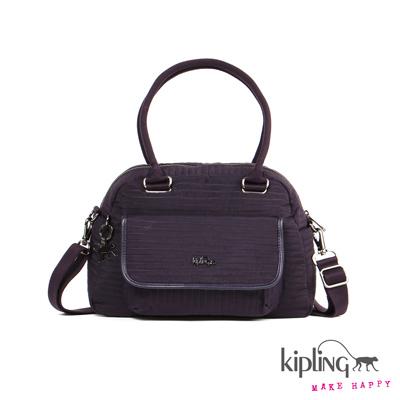 Kipling-手提包-工藝紫素面