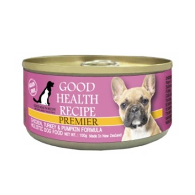 GHR健康主義 無穀犬用主食罐 雞肉南瓜 100g
