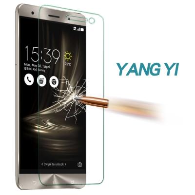 YANGYI 揚邑 ASUS ZenFone 3/5.2吋 防爆抗刮9H鋼化玻璃保護貼膜