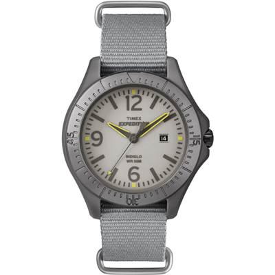TIMEX 遠征軍錶系列休閒腕錶-灰/ 42 mm