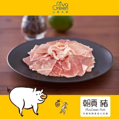 【山林水草】朝貢豬 前腿炒肉片 10包(220g/包) 含運