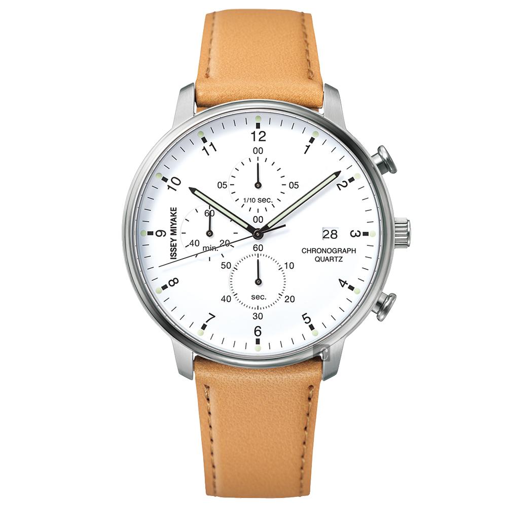 ISSEY MIYAKE三宅一生 C系列計時手錶 VD57-0620J NYAD004Y