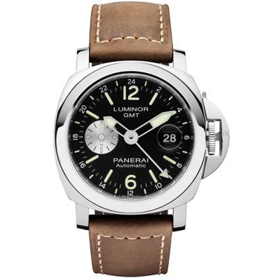 PANERAI 沛納海 Lumnior GMT PAM01088 兩地時間自動上鍊44mm