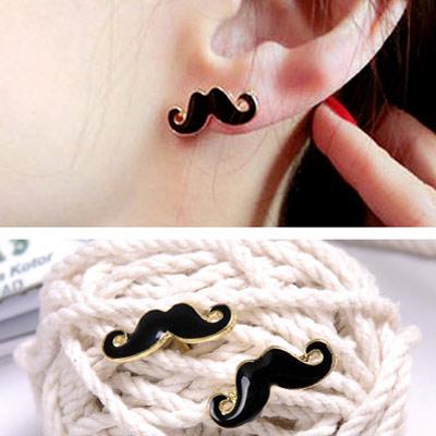 【Aimee Toff】翹鬍子點精小品耳環