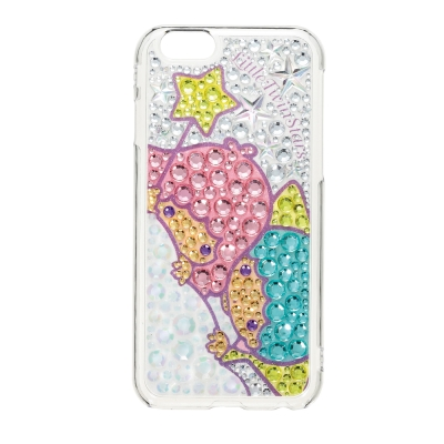 日本Suncrest TwinsStars iP6(4.7)滿鑽保護殼(KIKI...