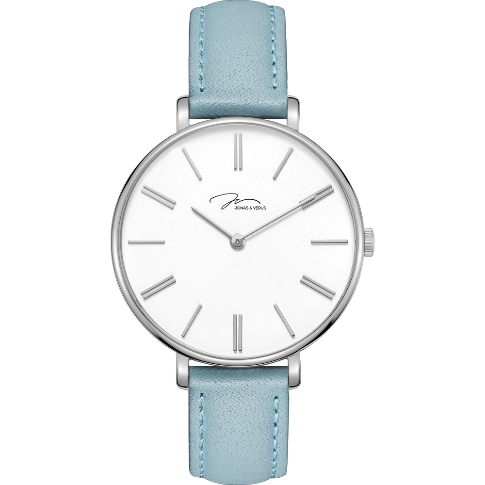 J&V -My Queen糸列 藍莓款錶(X01855-Q3.WWWLL)-藍色36mm