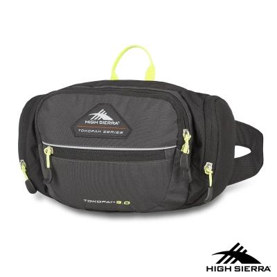 美國 High Sierra 3L TOKOPAH腰包 渡鴉灰/黑/亮綠