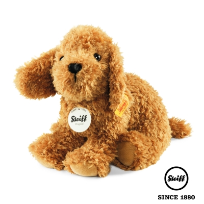STEIFF德國金耳釦泰迪熊 小狗 Little Bonny Puppy (動物王國)