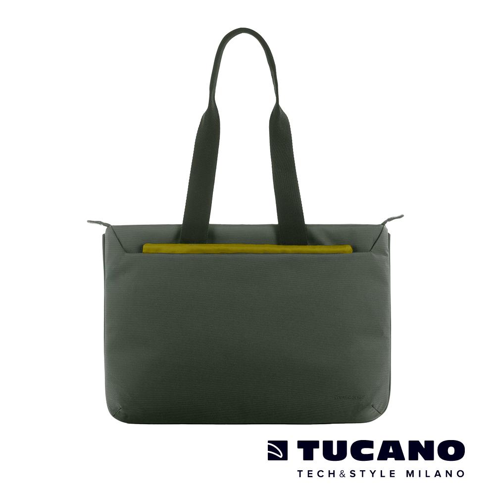 TUCANO WORK_OUT III 時尚多功能肩背包15吋(適用16吋) 墨綠