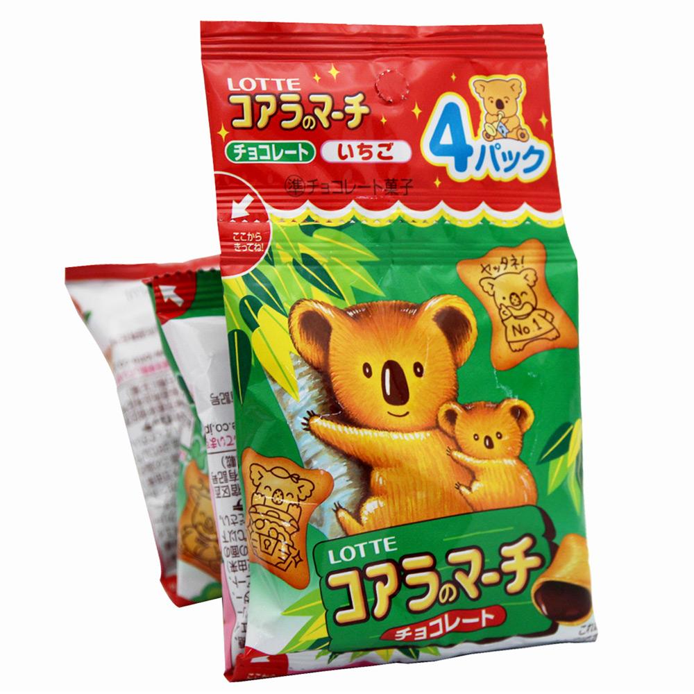 Lotte樂天 吊掛式小熊餅(68g x2入)