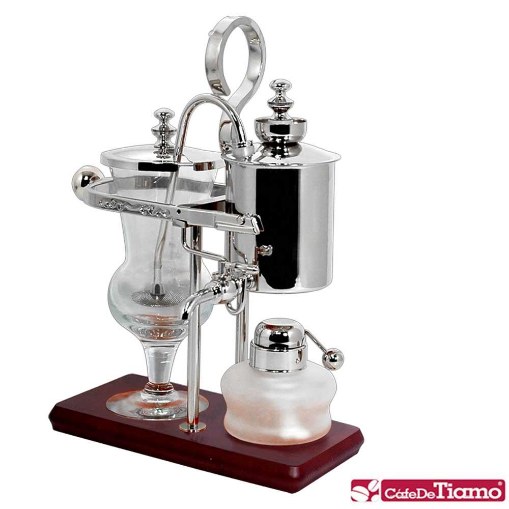 Tiamo CF490S 比利時咖啡壺 - 銀 ( HG0135 )