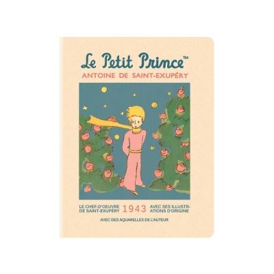 7321 Design 小王子經典塗鴉條紋筆記本L-玫瑰園