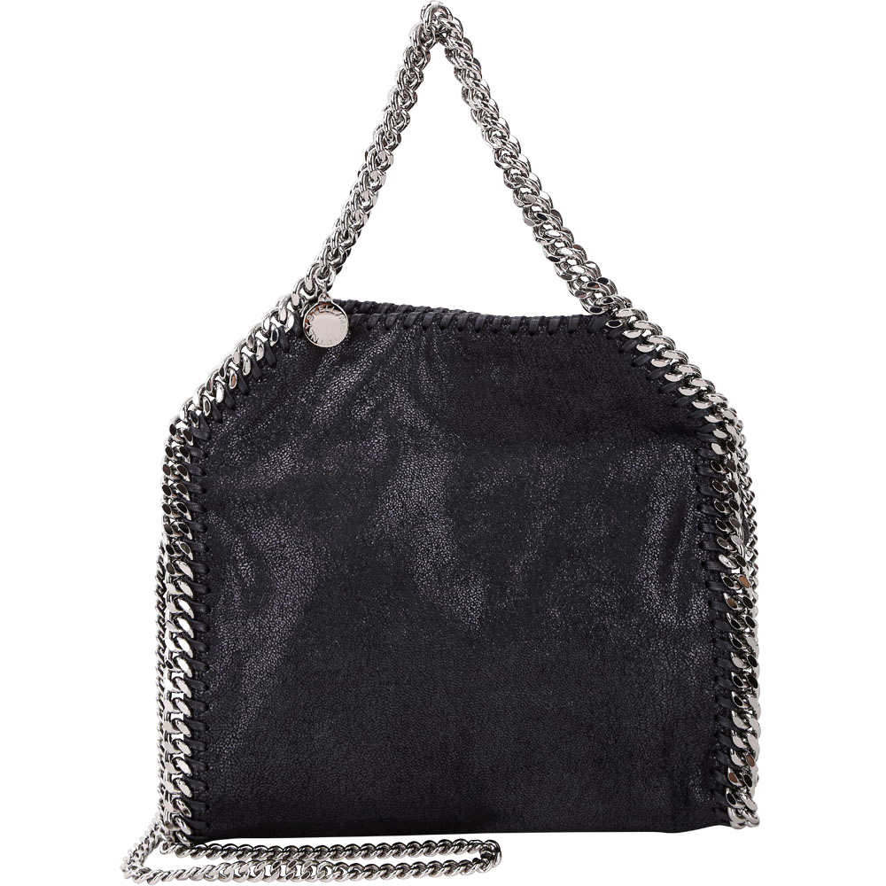 Stella McCartney Falabella Deer 小款 兩用鍊帶包(黑色)