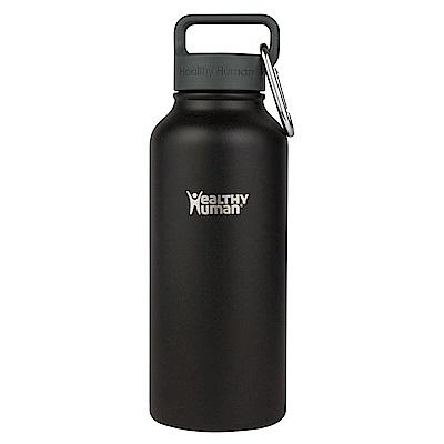 Healthy Human寬口不鏽鋼保冷保溫瓶946ml-黑色