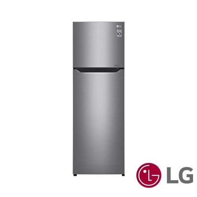 [無卡分期12期]樂金LG 253公升Smart 變頻上下門冰箱GN-L307SV