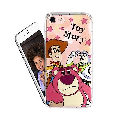 迪士尼  iPhone 8 / iPhone 7  繽紛空壓安全手機殼(玩具總動...