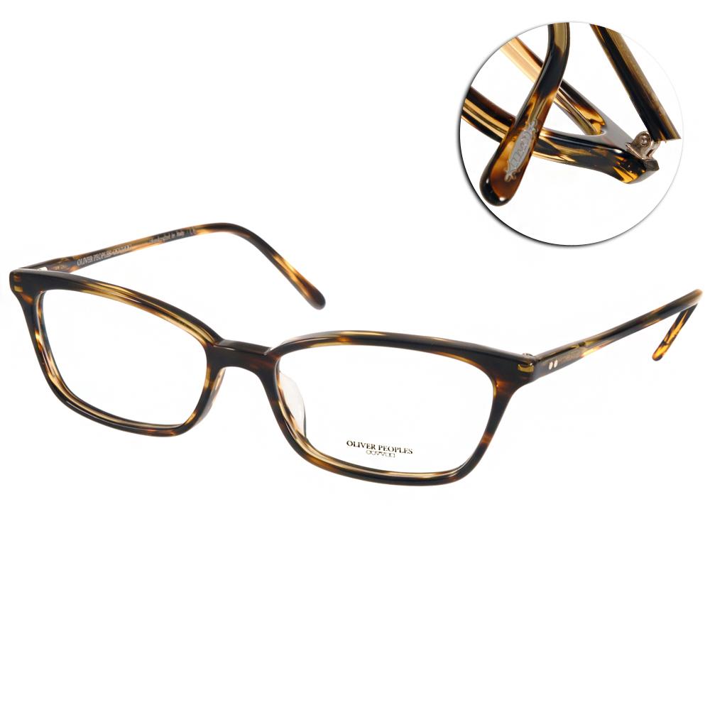 OLIVER PEOPLES眼鏡 好萊塢星鏡/流線棕#SCARLA 1003