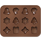 TESCOMA 巧克力模+層架(聖誕節)