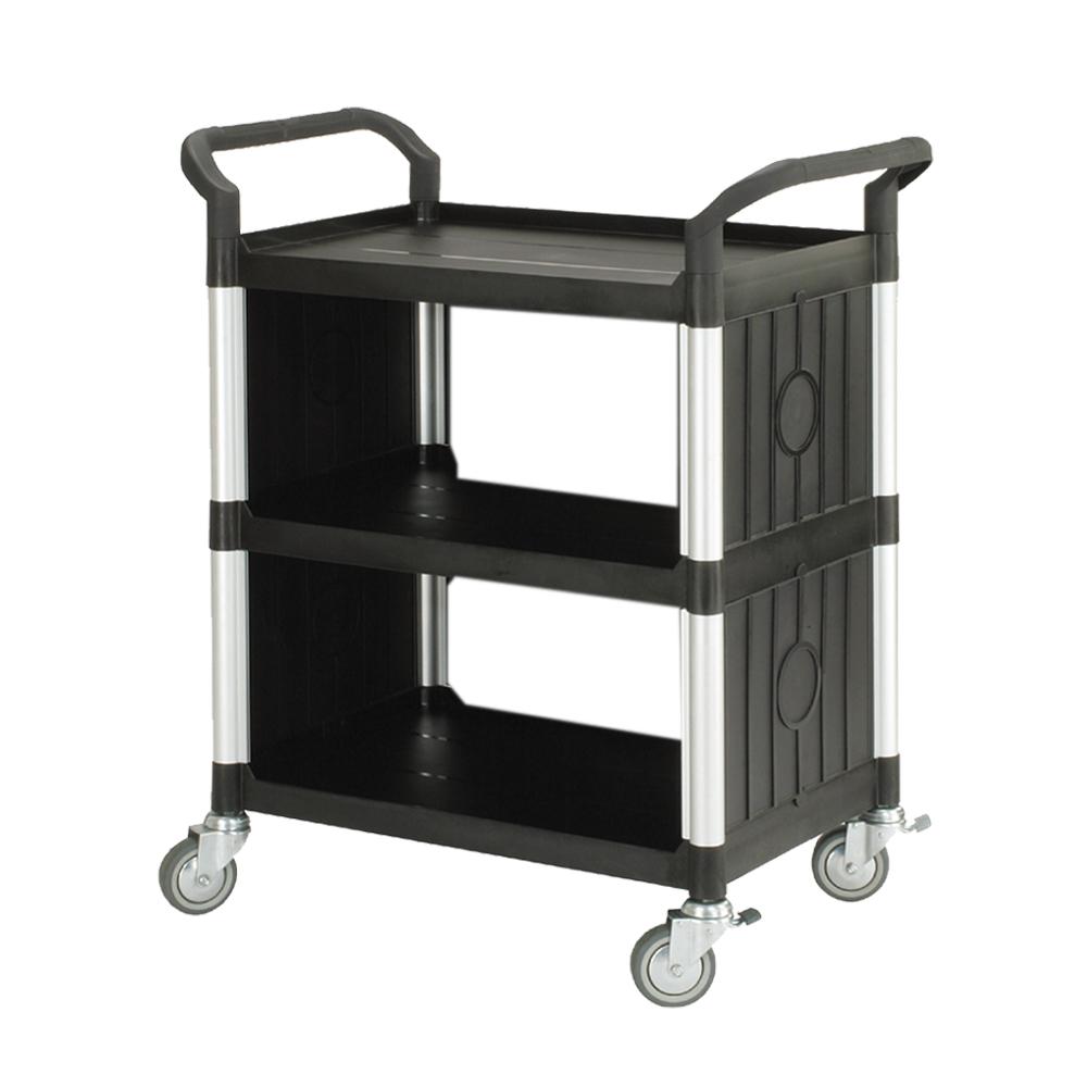 100%台灣製 標準多功能三層側圍邊工具餐車/手推車/置物架