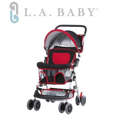 (美國 L.A. Baby) 兩用手推車機車椅