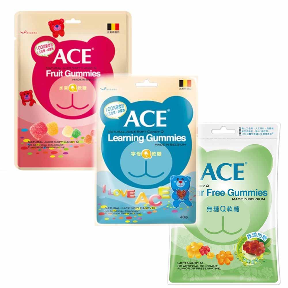 ACE Q軟糖 6入組 (共2組任選)