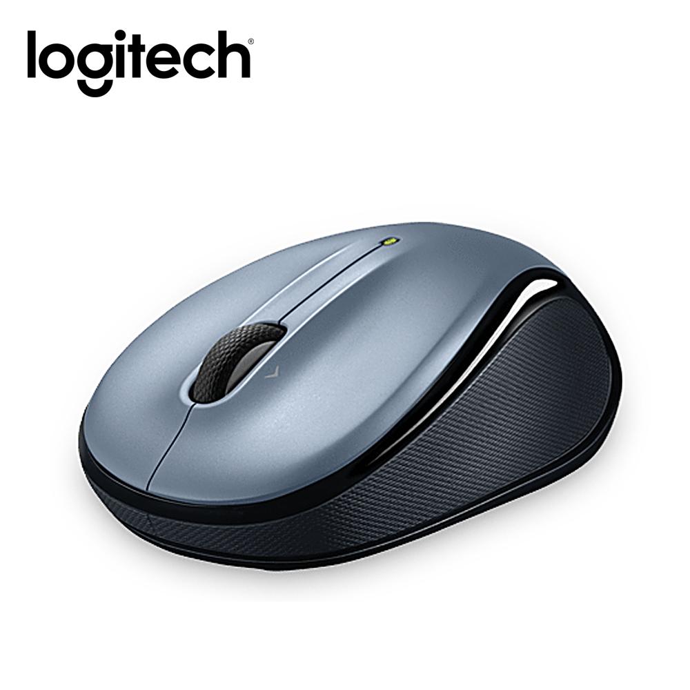 羅技 無線滑鼠 M325-銀色