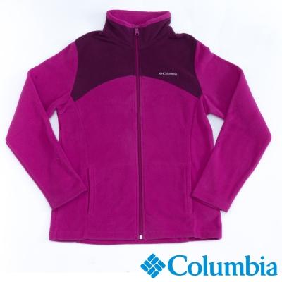 Columbia哥倫比亞  女款-保暖刷毛夾克-紫色 UAR04950PL