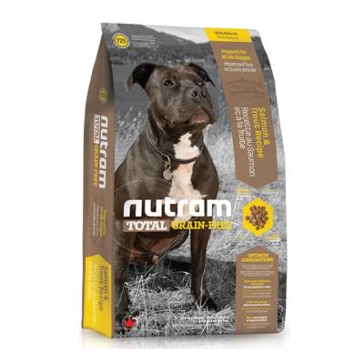 Nutram紐頓 T25無穀潔牙犬 鮭魚配方 犬糧 2.72公斤