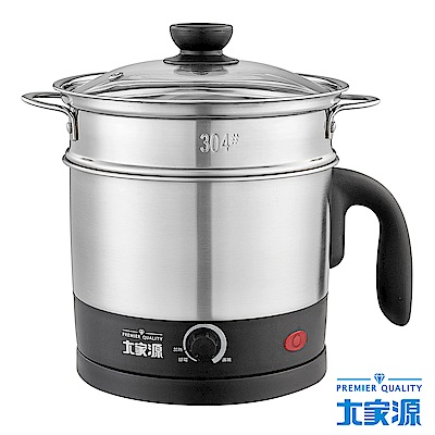 大家源(1.2L)304不鏽鋼蒸煮美食鍋(TCY-2746)